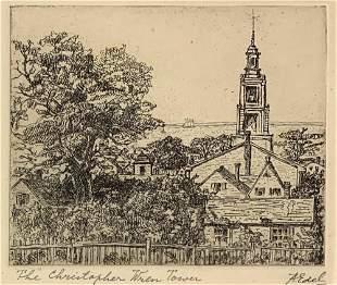 ALBERT EDEL 18941970 The Christopher Wren Tower