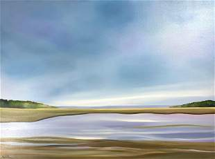 KATHERINE BALTIVIK 19462018 The Moors Oil on canvas
