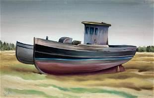 CHARLES DE CARLO 19112003 Derelict with Blue