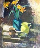 MARION HAWTHORNE (1870-1945) Still Life, Oil on canvas