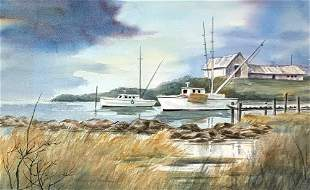 KATHERINE KERLAN 2021st c In the Harbor
