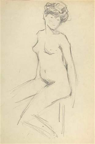 RICHARD MILLER 18751943 Nude doublesided Graphite