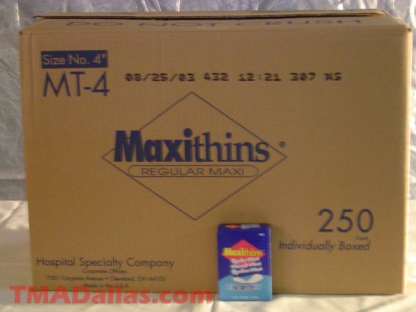 7: LOT OF 4 CASES OF MAXITHINS (NEW)