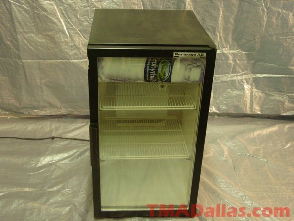 386: BEVERAGE AIR C/T COOLER, MODEL# UR30G, 115 VOLT, 6