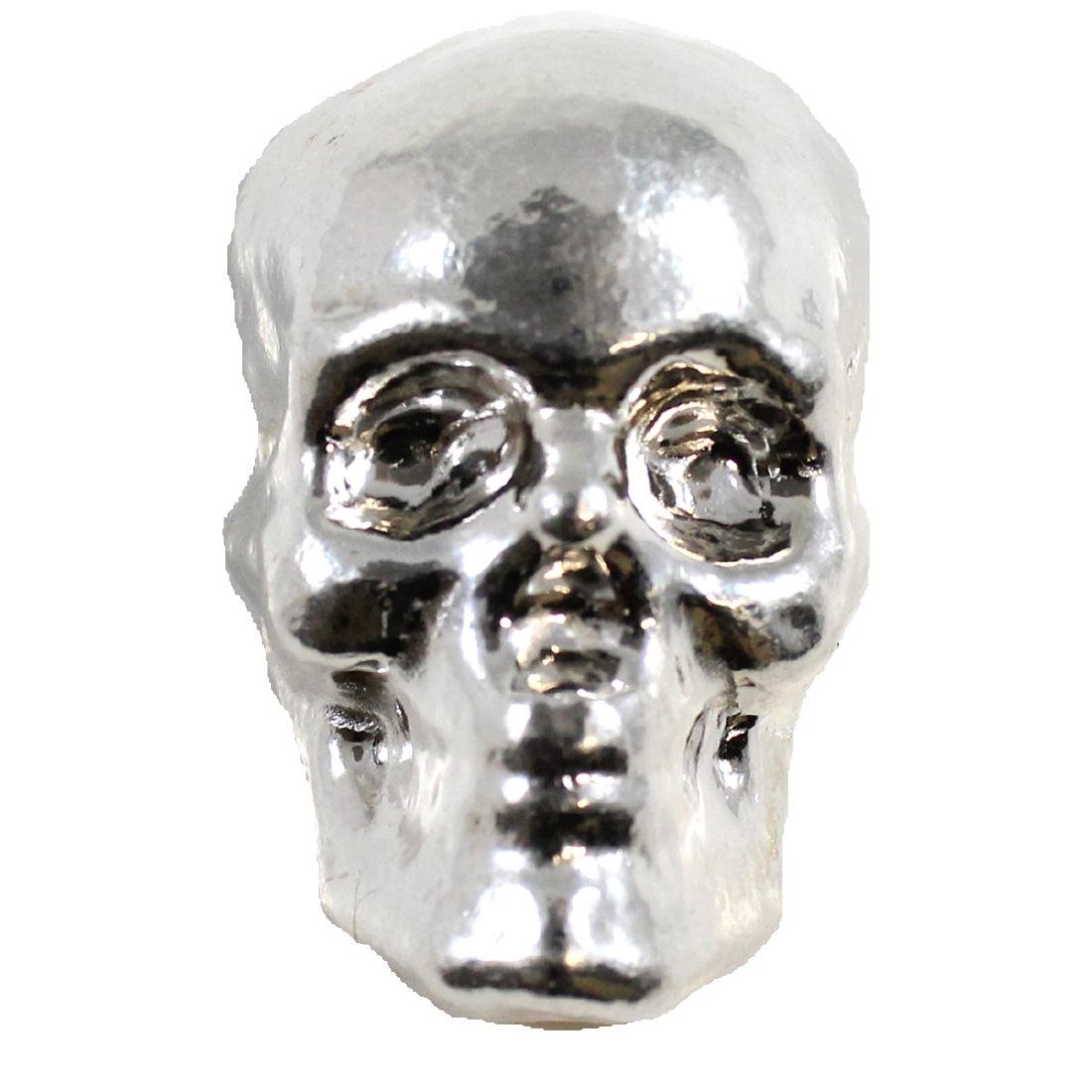 SKULL Monarch Precious Metals - 3oz. Hand Poured .999
