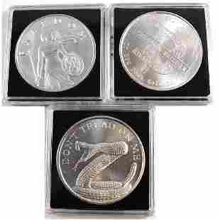 Silver Shield 1oz Fine Silver Coin Lot Tax Exempt