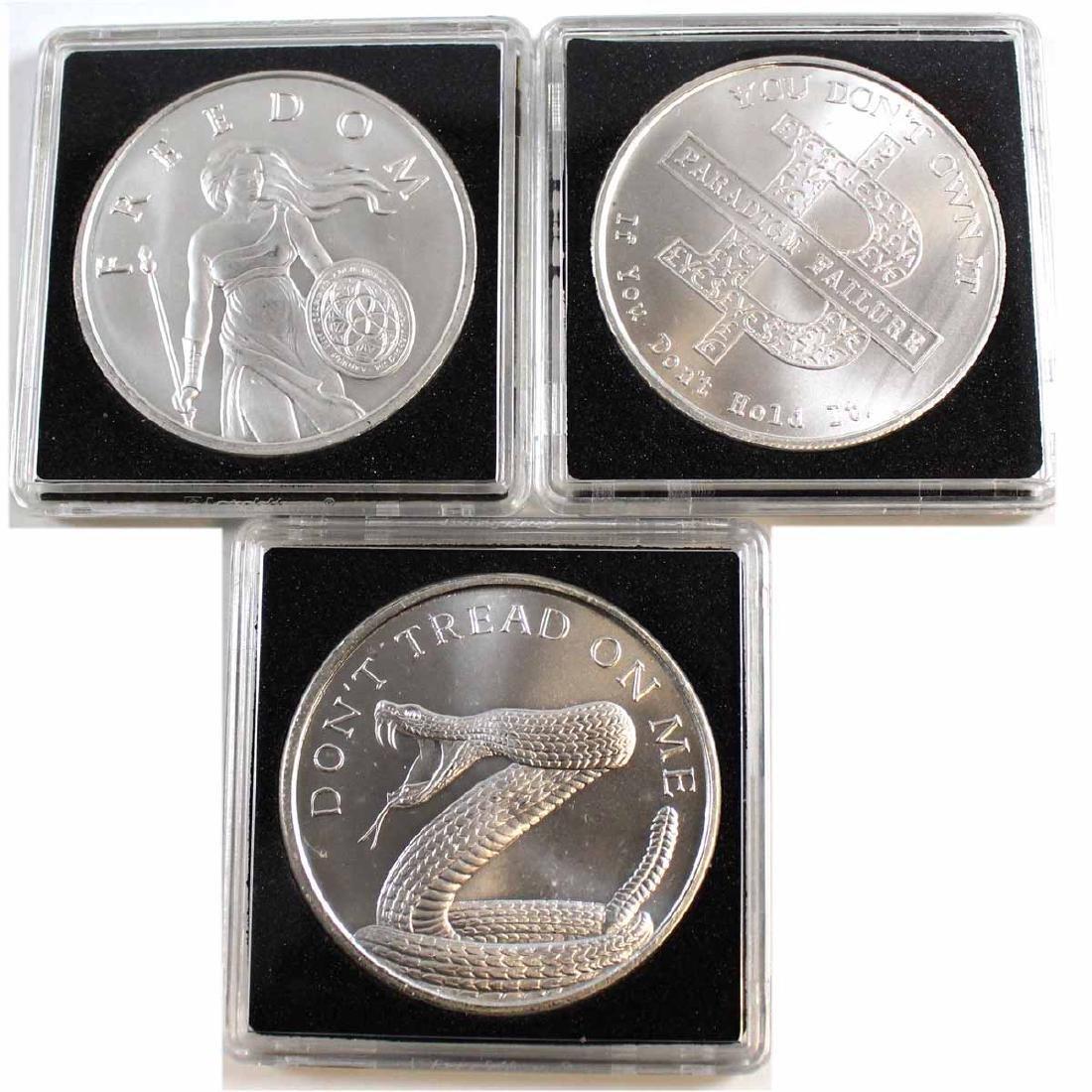 Silver Shield 1oz Fine Silver Coin Lot (Tax Exempt).