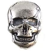 SKULL Monarch Precious Metals 2oz Fine Silver (TAX
