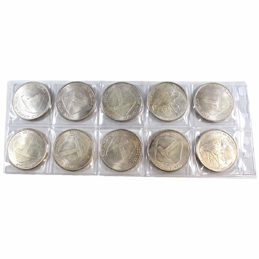 Lot of Pan American Silver Corp NWT 1oz Fine Silver