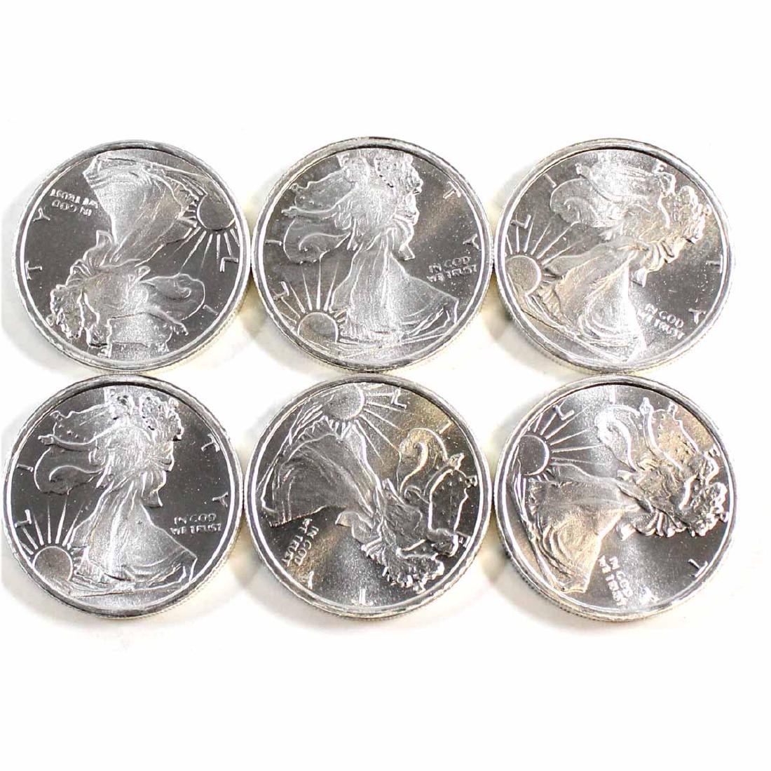 Lot of United States 1/4oz Fine Silver Walking Liberty