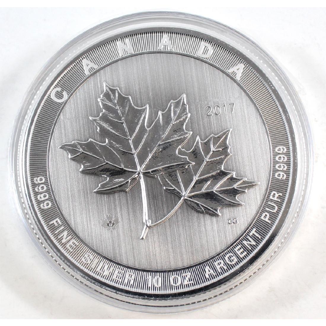 2017 Canada $50 Magnificent Maple Leaves 10oz Fine