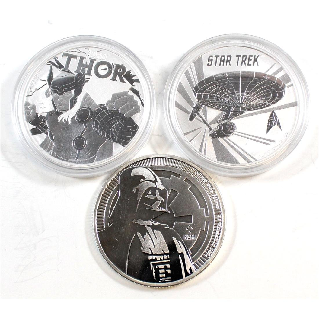 2016 Tuvalu $1 1oz. Star Trek Original U.S.S.