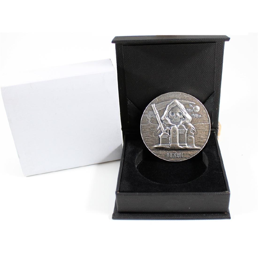 2017 Monarch Precious Metals 5 oz 999 Fine Silver Round
