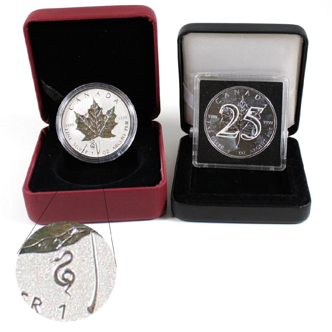 2013 25th Anniversary & 2013 Snake Privy 1oz Silver
