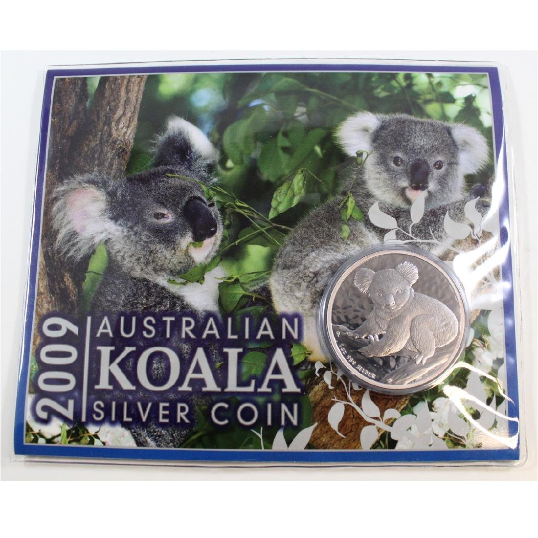 2009 Australian Koala 1oz .999 Fine Silver Coin with