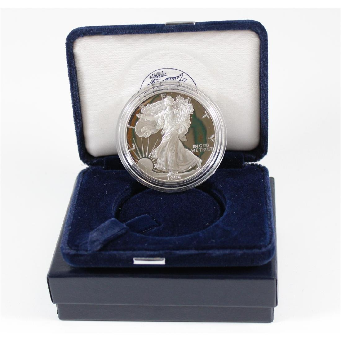 1994 United States 1 oz Proof Silver American Eagle