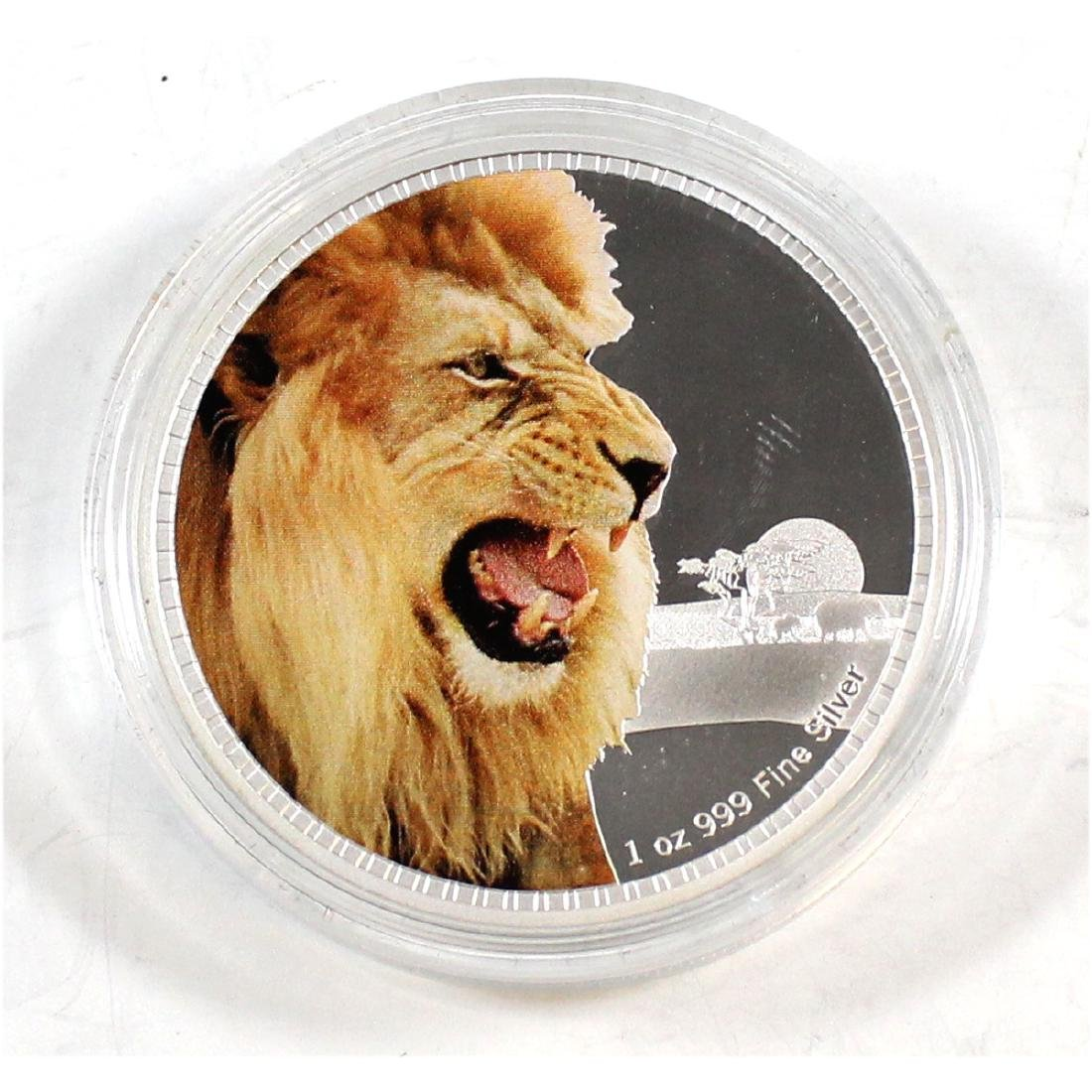 2016 Proof Kings of the Continents African Lion 1 oz