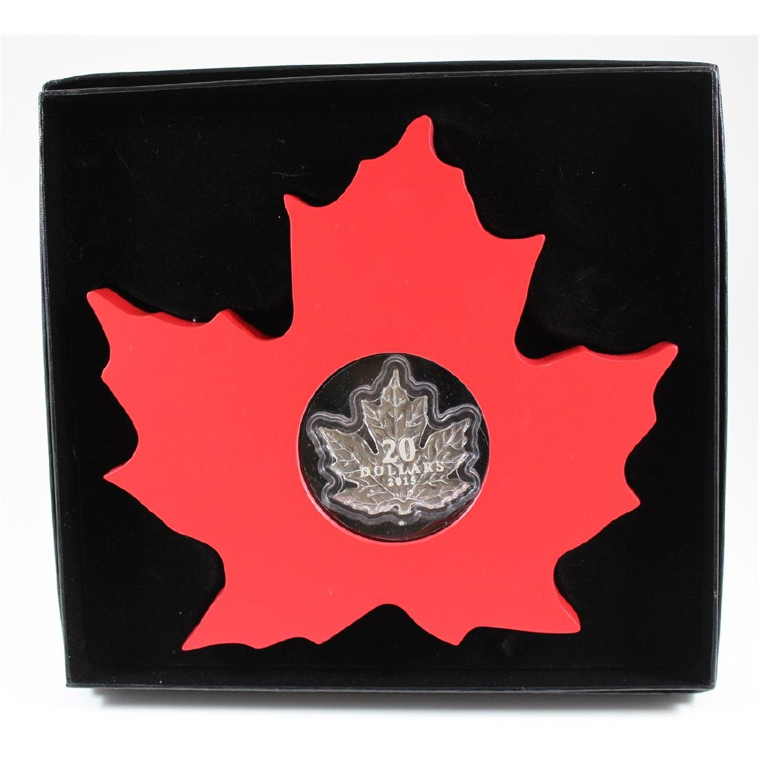 2015 Canada $20 The Canadian Maple Leaf Fine Silver