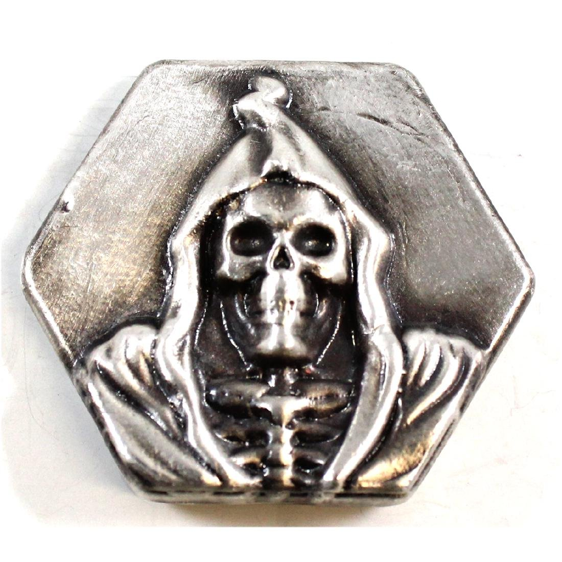 Limited Mintage! Beaver Bullion 4oz Fine Silver 'Death'
