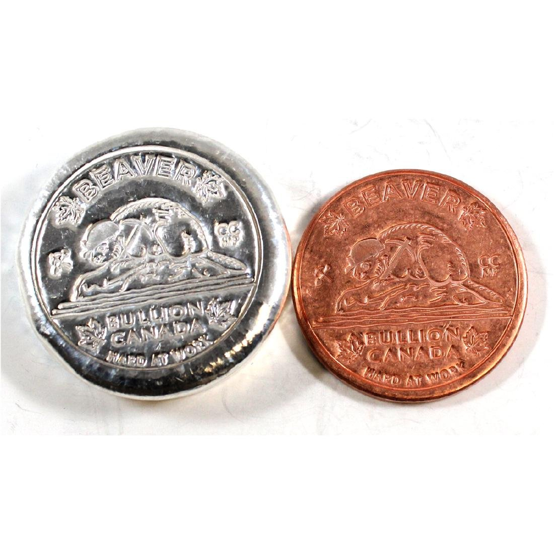 Limited Mintage! Beaver Bullion 'Hard at Work' 5oz Fine