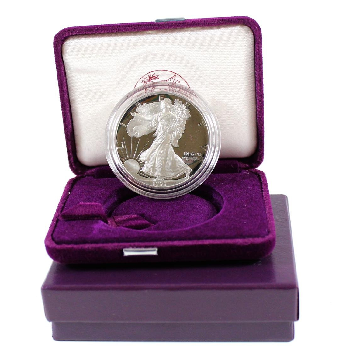 1993 US American Eagle 1oz Proof (TAX Exempt). Coin