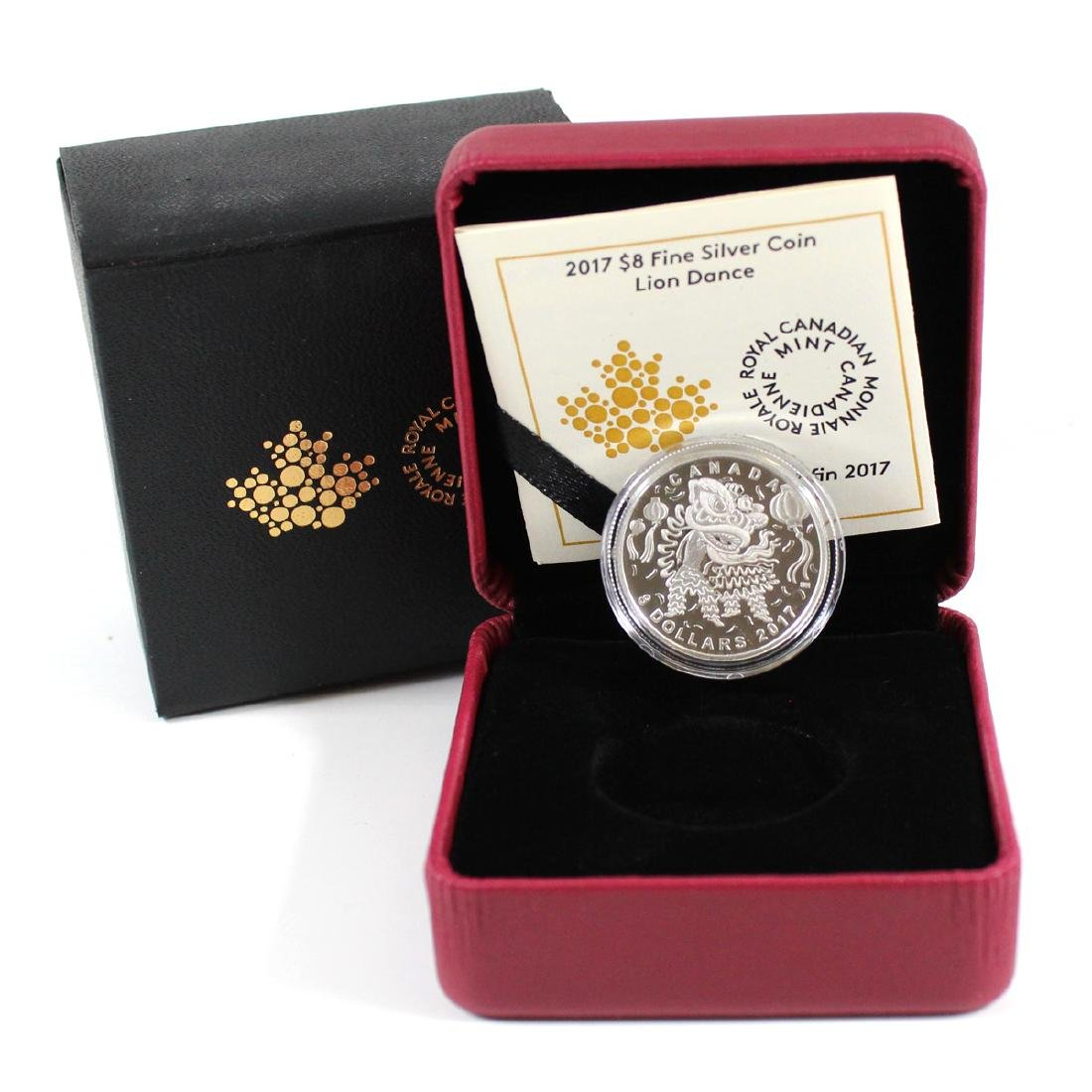2017 Canada $8 Lion Dance Fine Silver Coin (TAX