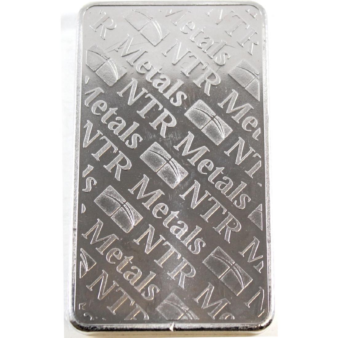 NTR Metals 10oz .999 Fine Silver Bar (TAX Exempt) - 2