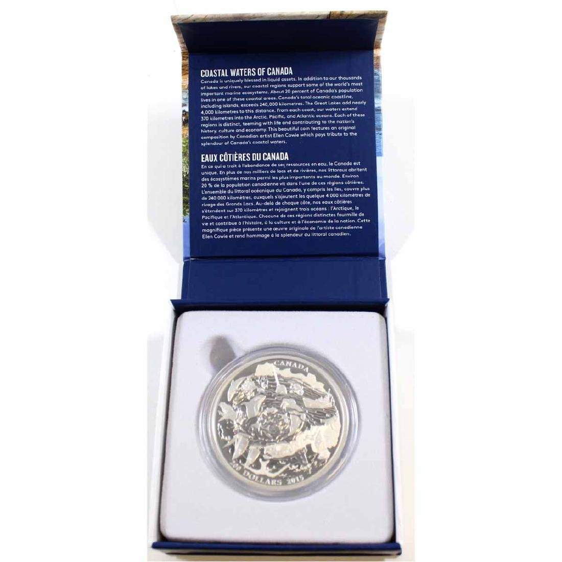 2015 Canada $200 Coastal Waters 2oz $200 for $200 Fine
