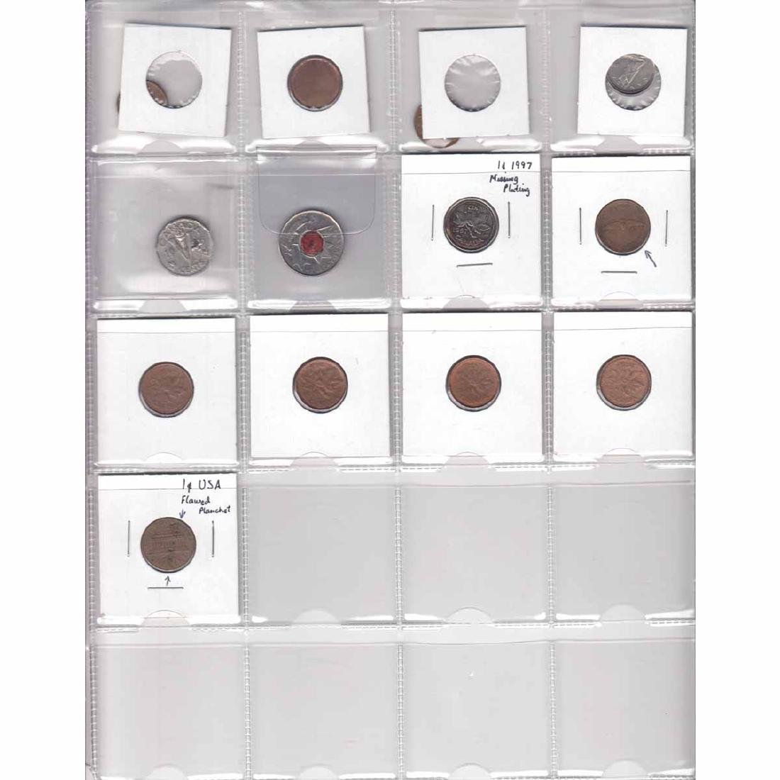 Estate Lot of 13x Canada 1-cent, 5-cent, 10-cent,