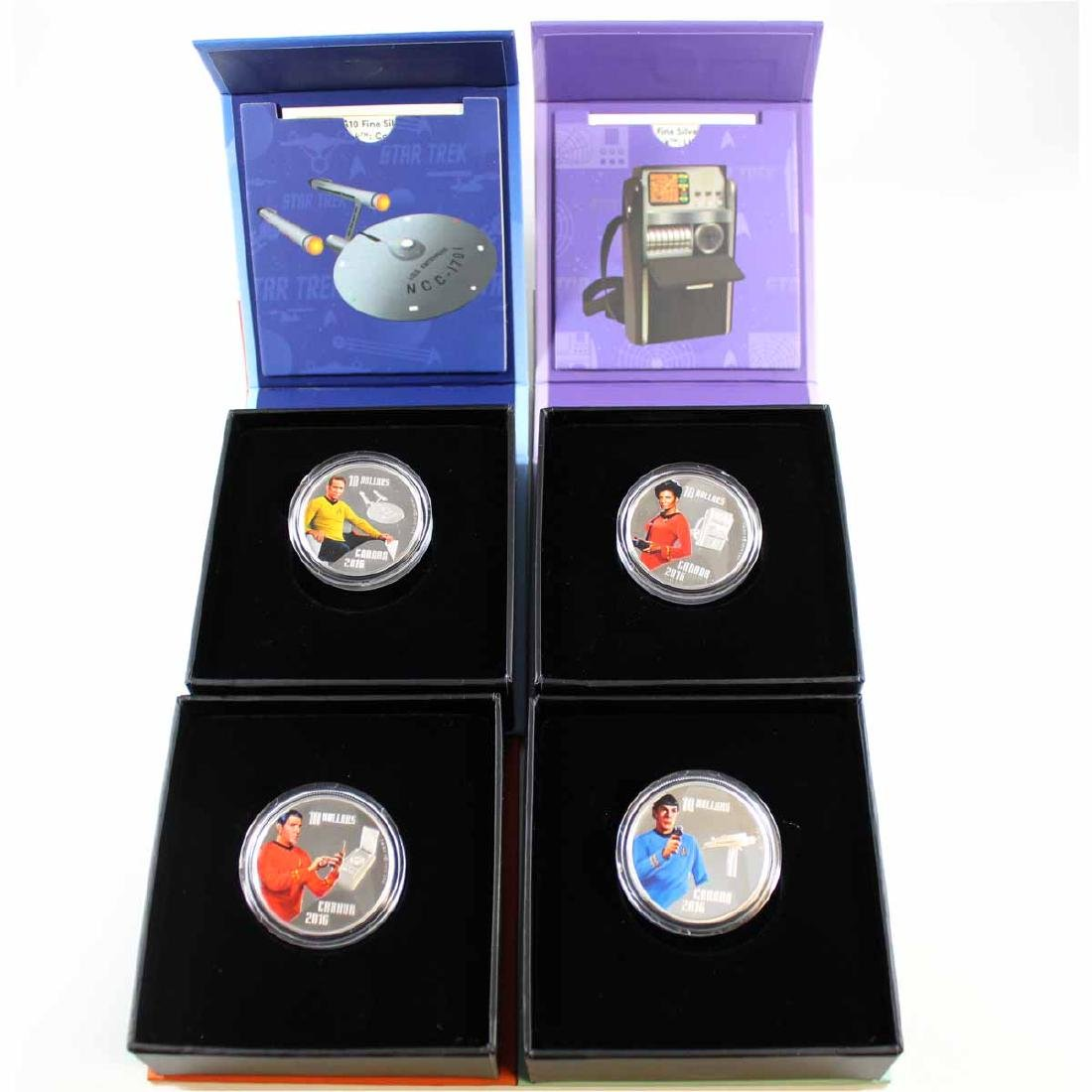 2016 Canada $10 Star Trek Fine Silver Coin Collection
