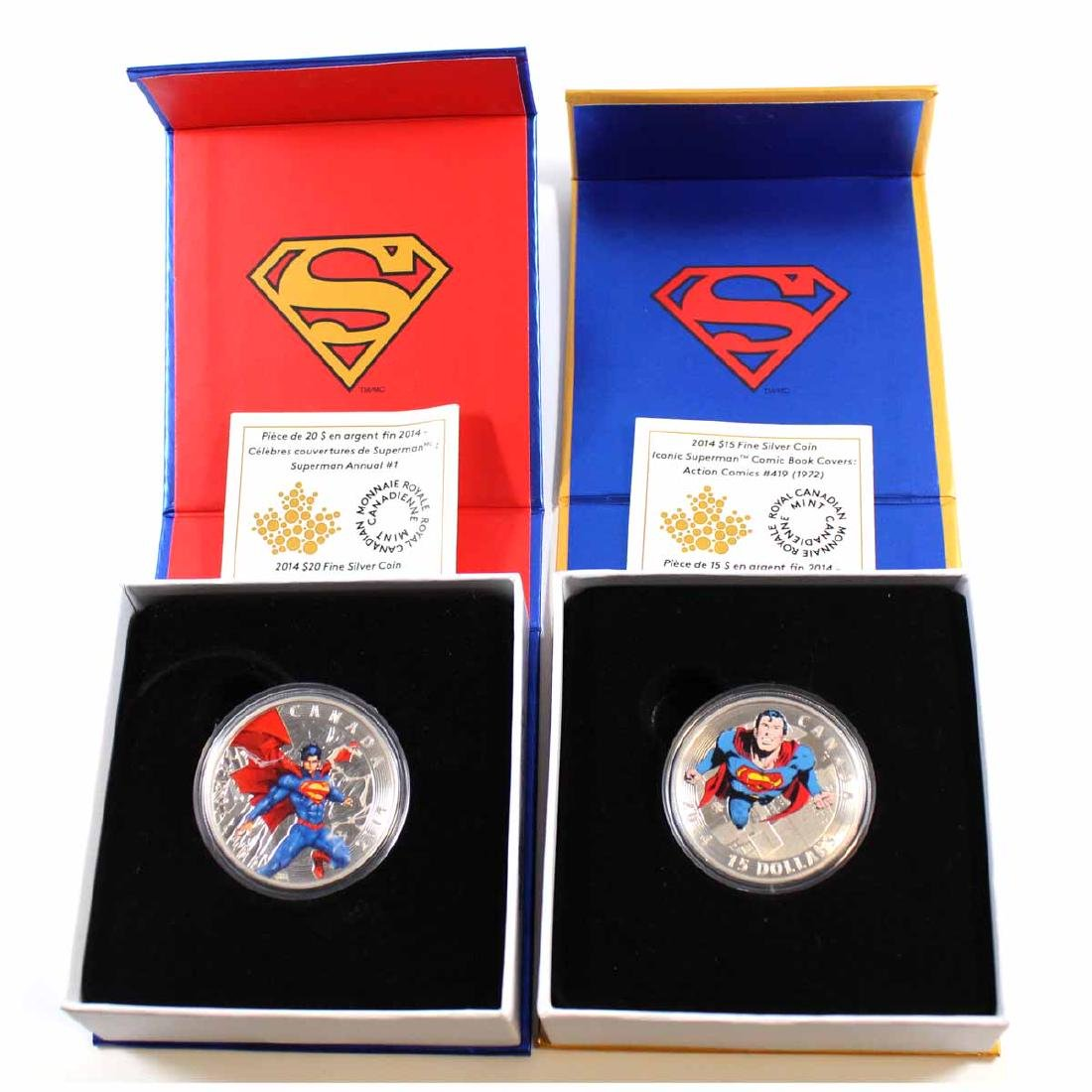 2014 $20 Superman Annual #1 (2012) & 2014 $15 Superman