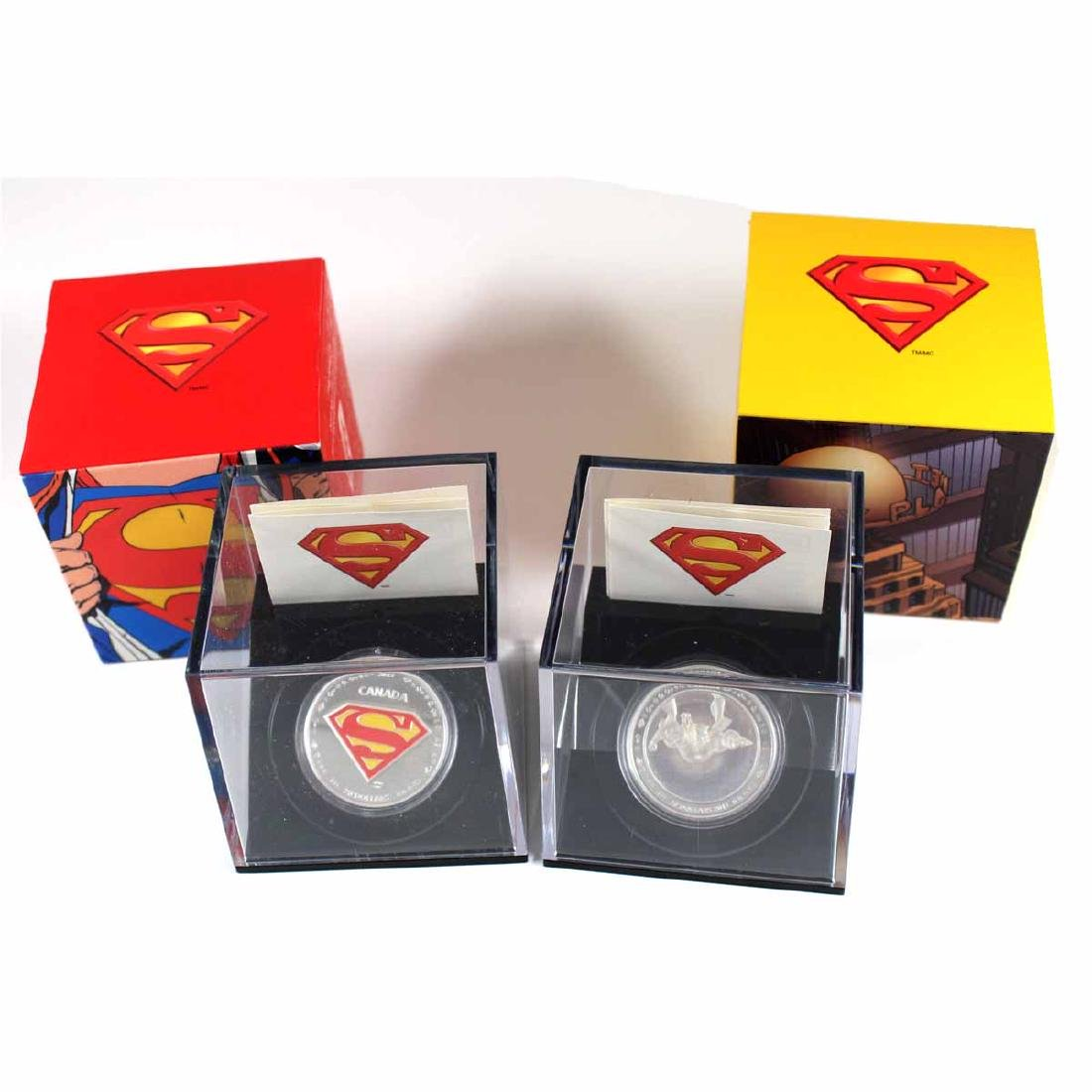 2013 Metropolis & 2013 The Shield $20 Superman Fine