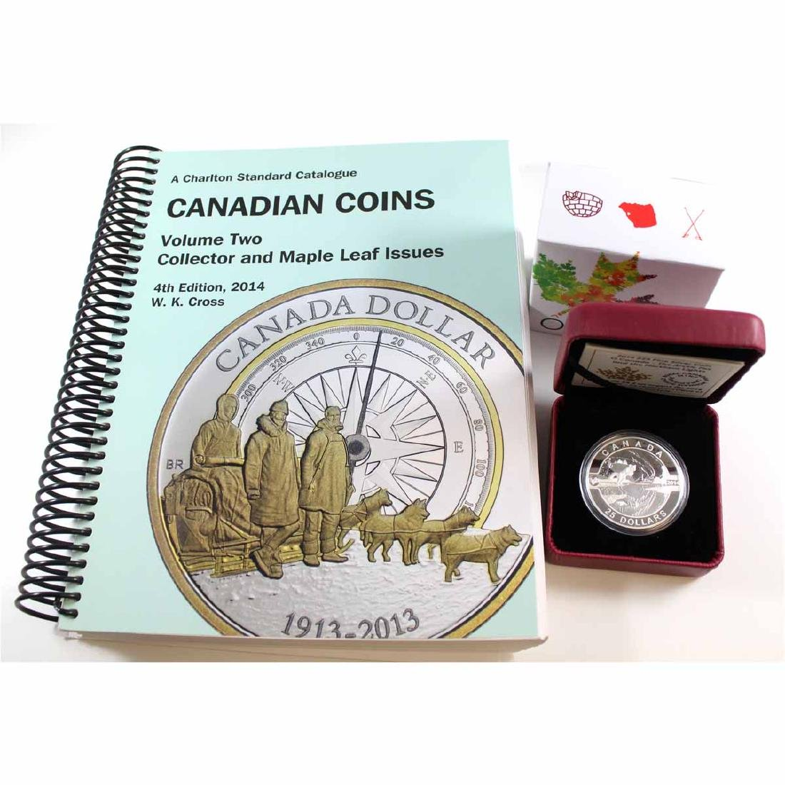 2014 $25 O Canada - The Arctic Fox and the Northern