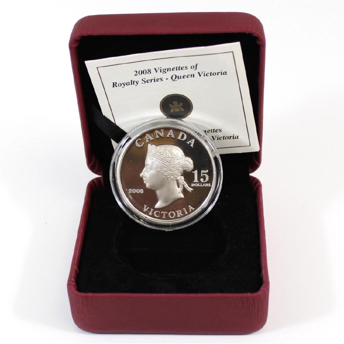 2008 Canada $15 Queen Victoria Vignettes of Royalty