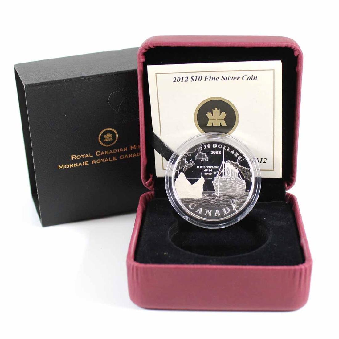 2012 Canada $10 R.M.S. Titanic Fine Silver Coin