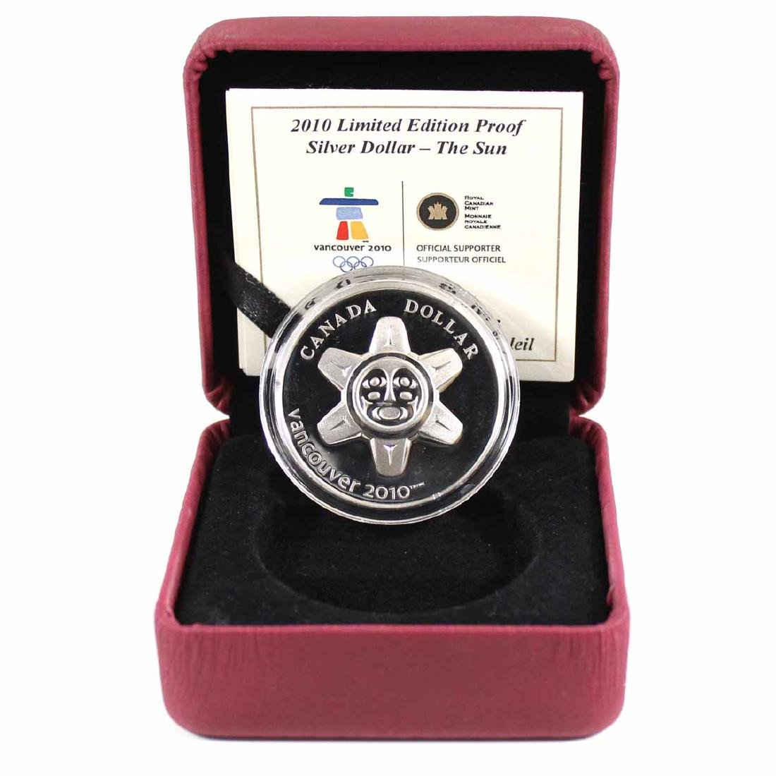 2010 Canada Limited Edition $1 The Sun Proof Sterling