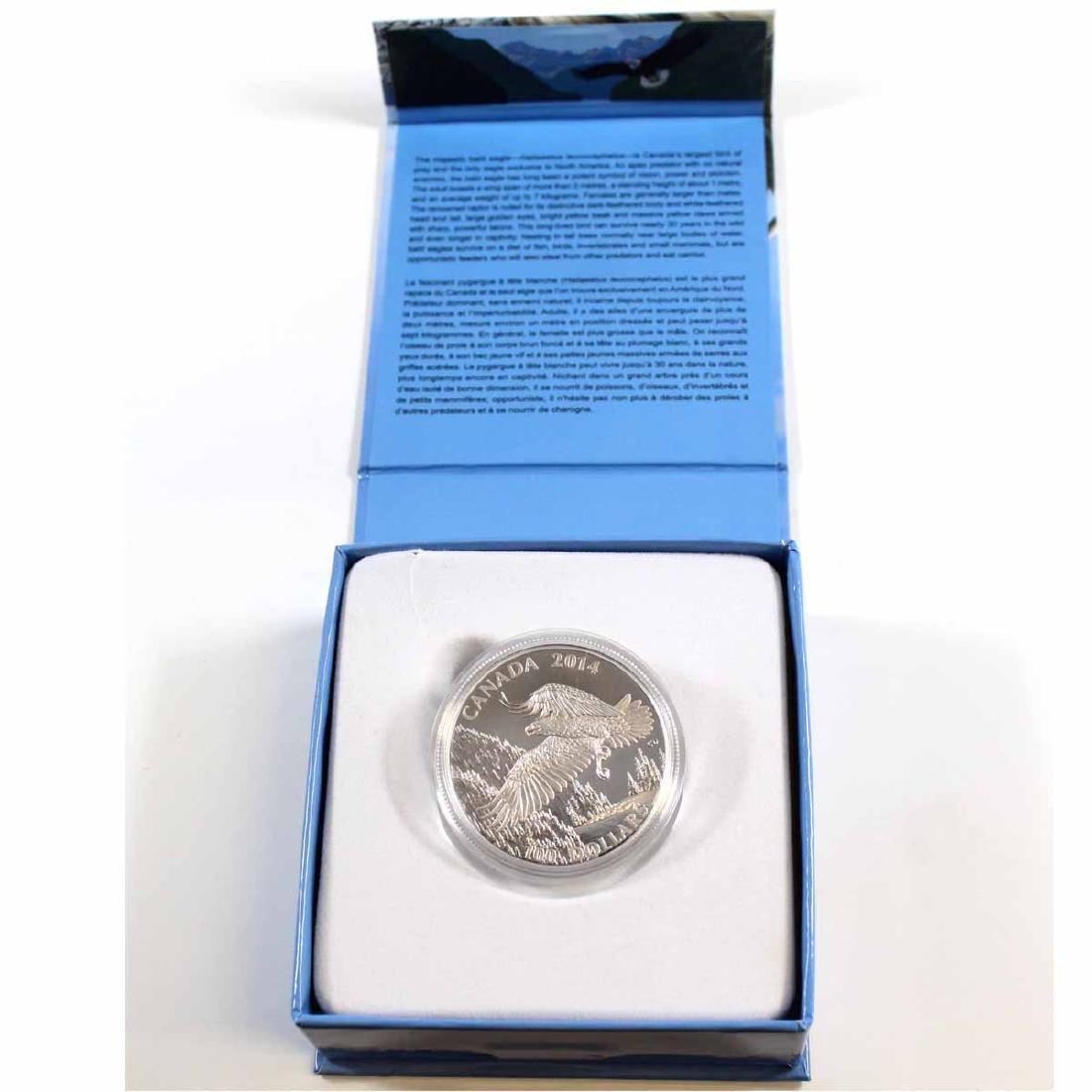 2014 Canada $100 Majestic Bald Eagle ($100 for $100)