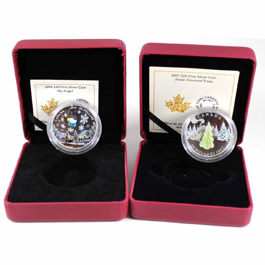 2016 Canada $20 My Angel (light scratches on capsule) &