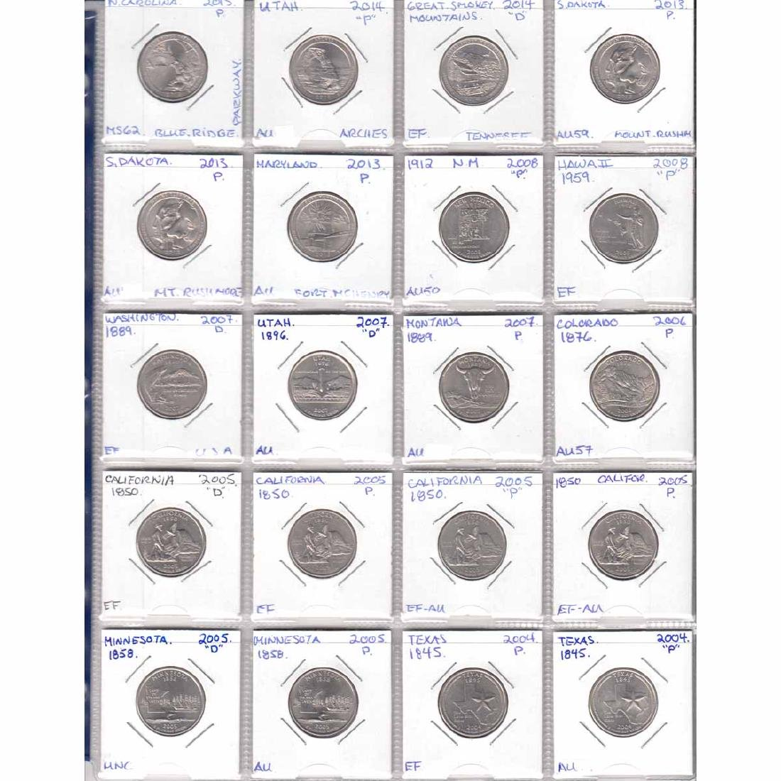 Collection of United States Coins dated 1942-2015. You - 3