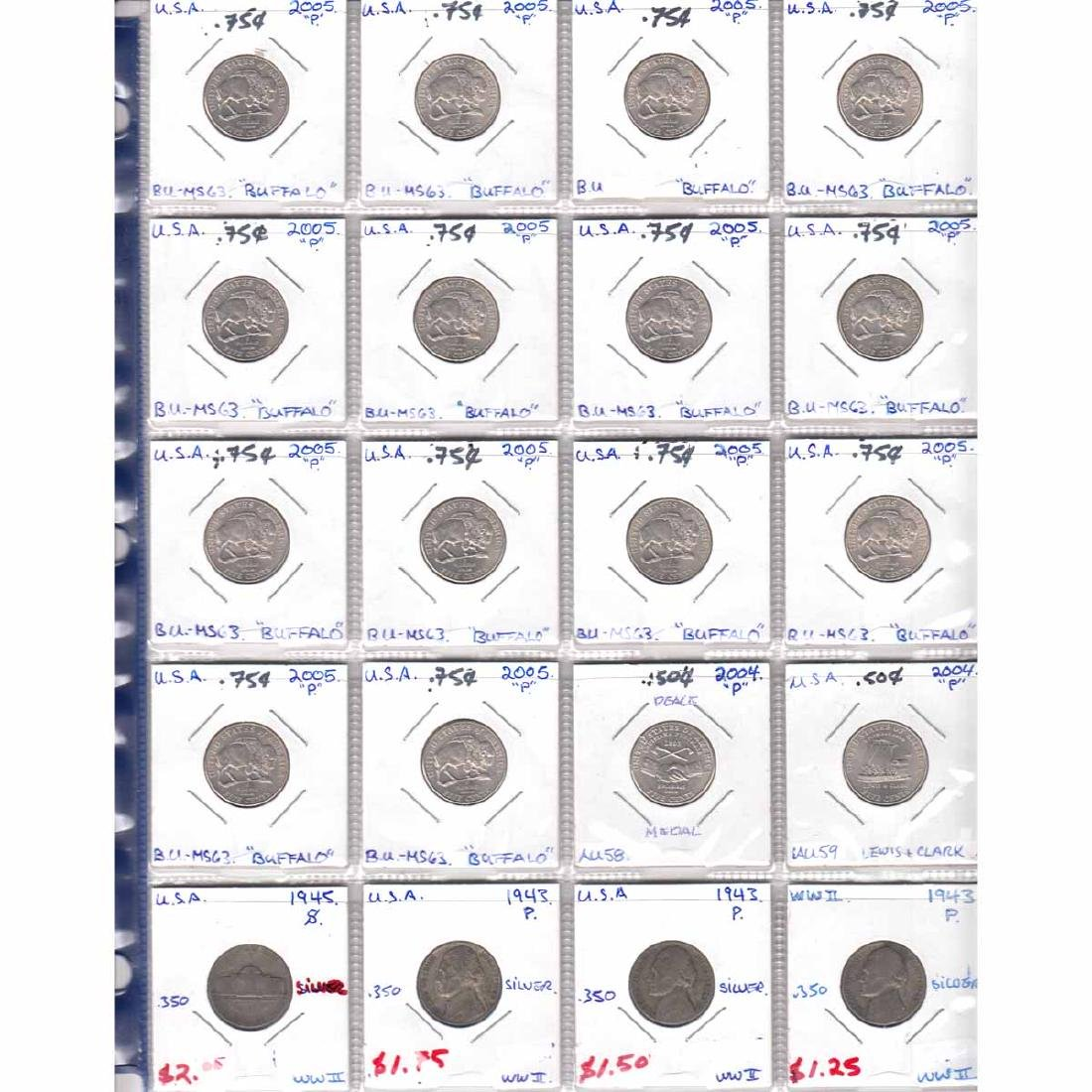 Collection of United States Coins dated 1942-2015. You - 5