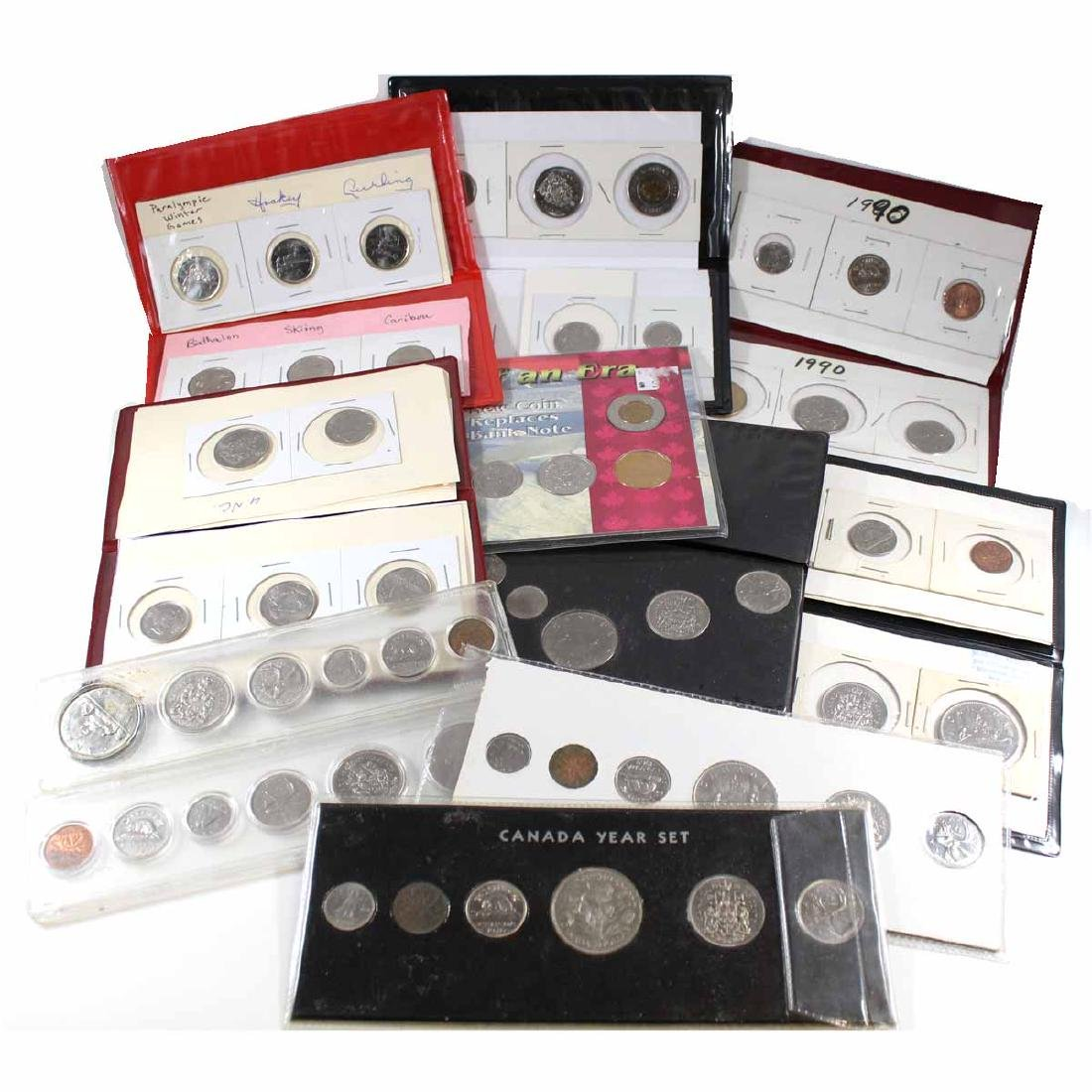Lot of 1969-2007 Canada Year Set Collection. You will