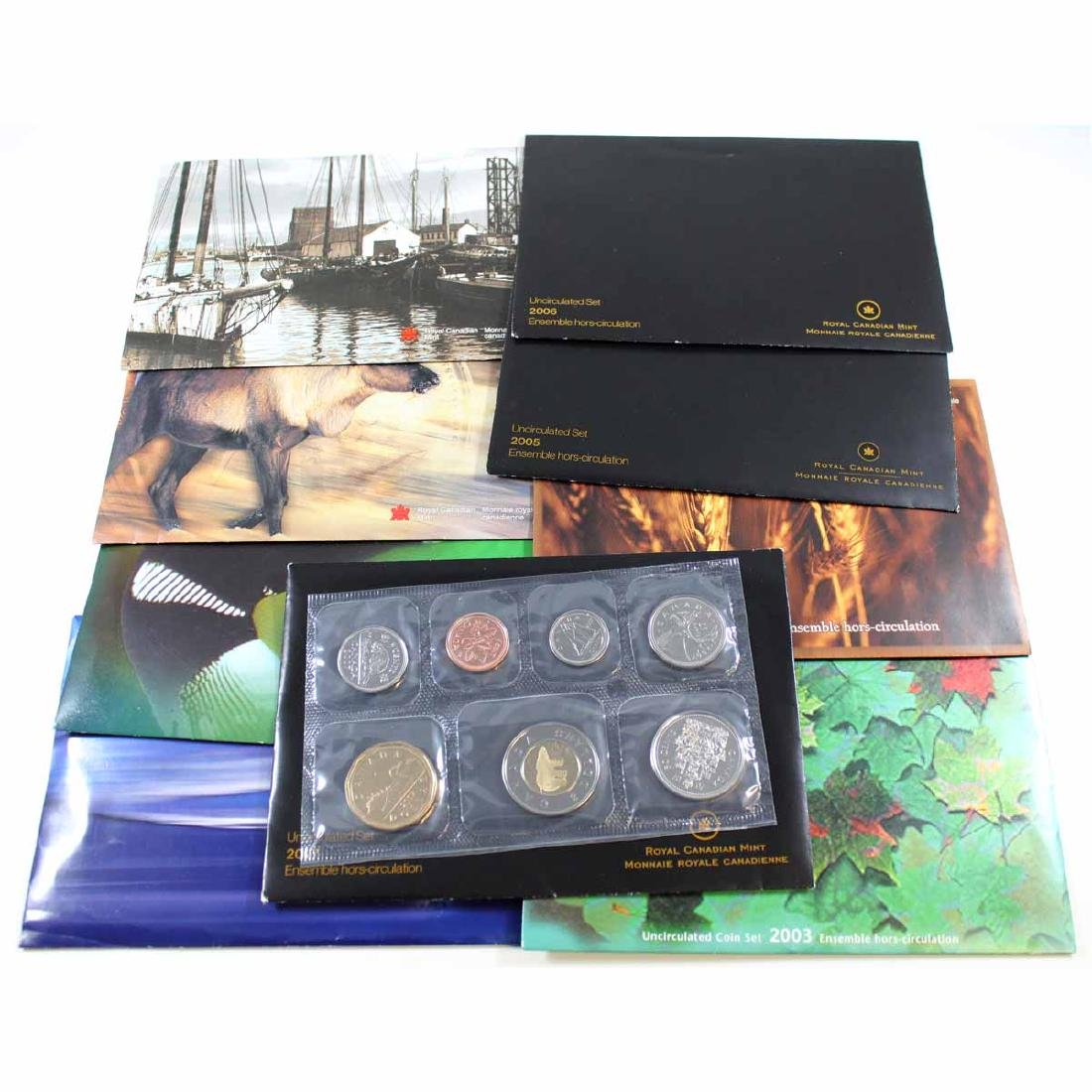 1999-2007 Canada Proof-like Uncirculated sets. You will