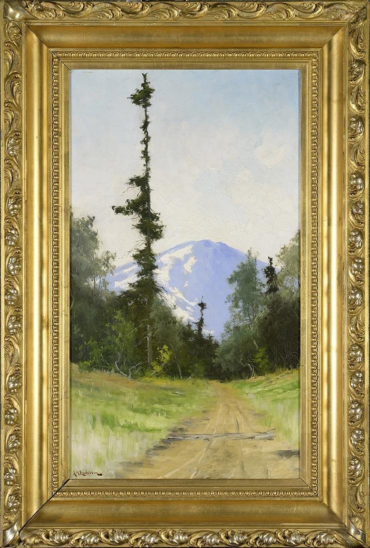 Arvid Mauritz Lindstrom, 1849-1923, Landscape