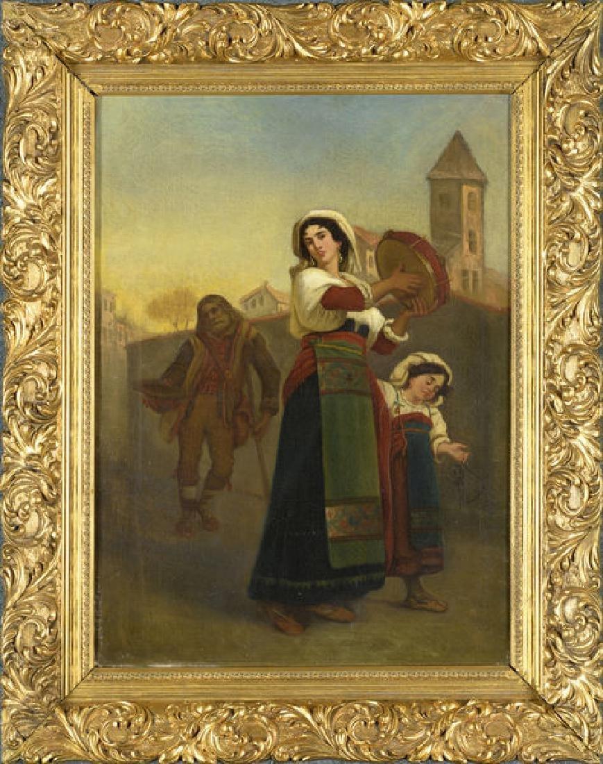 "Celestin-Jospeh Blanc 1818-1888, ""The Beggers"""