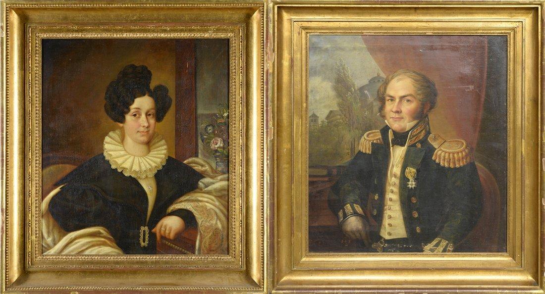Carl Peter Lehmann (1794-1876) Portraits