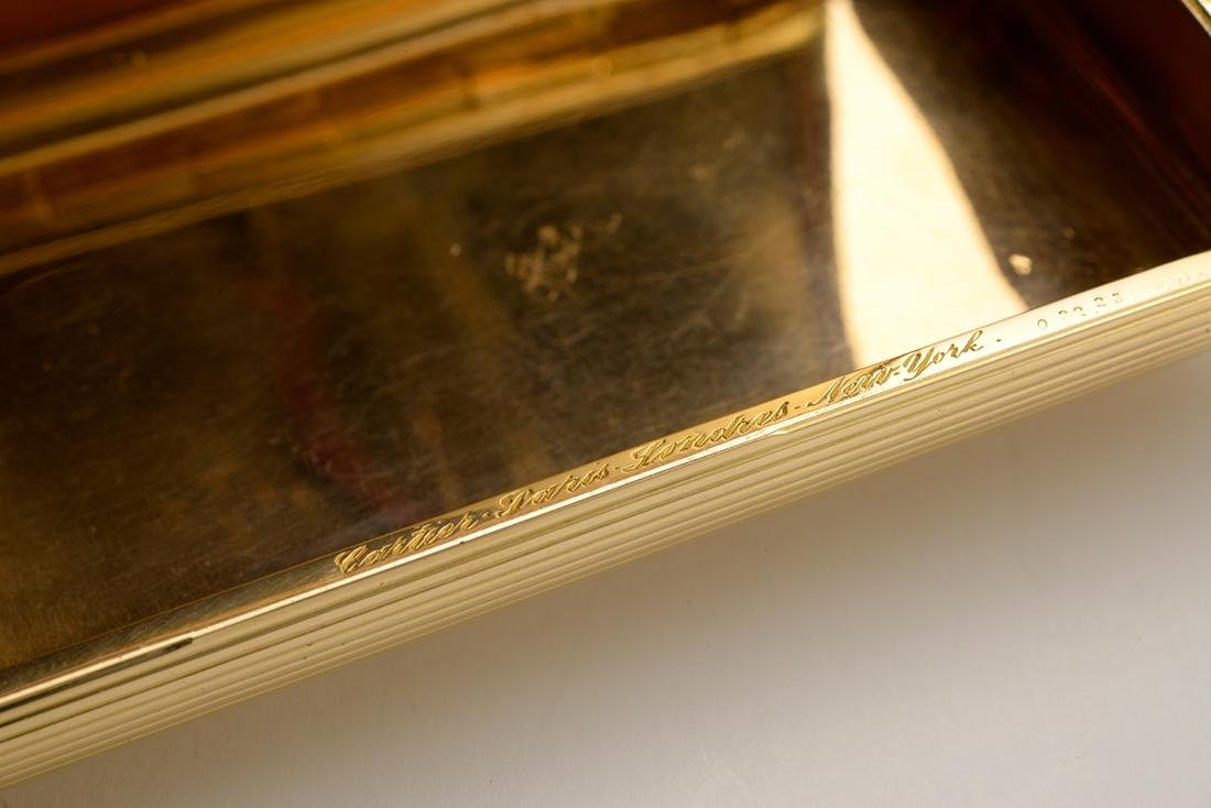 Signed Cartier Cigarette Case, 1960 - 2