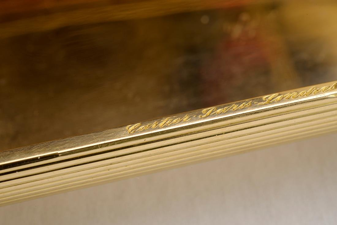 Signed Cartier Cigarette Case, 1960 - 5