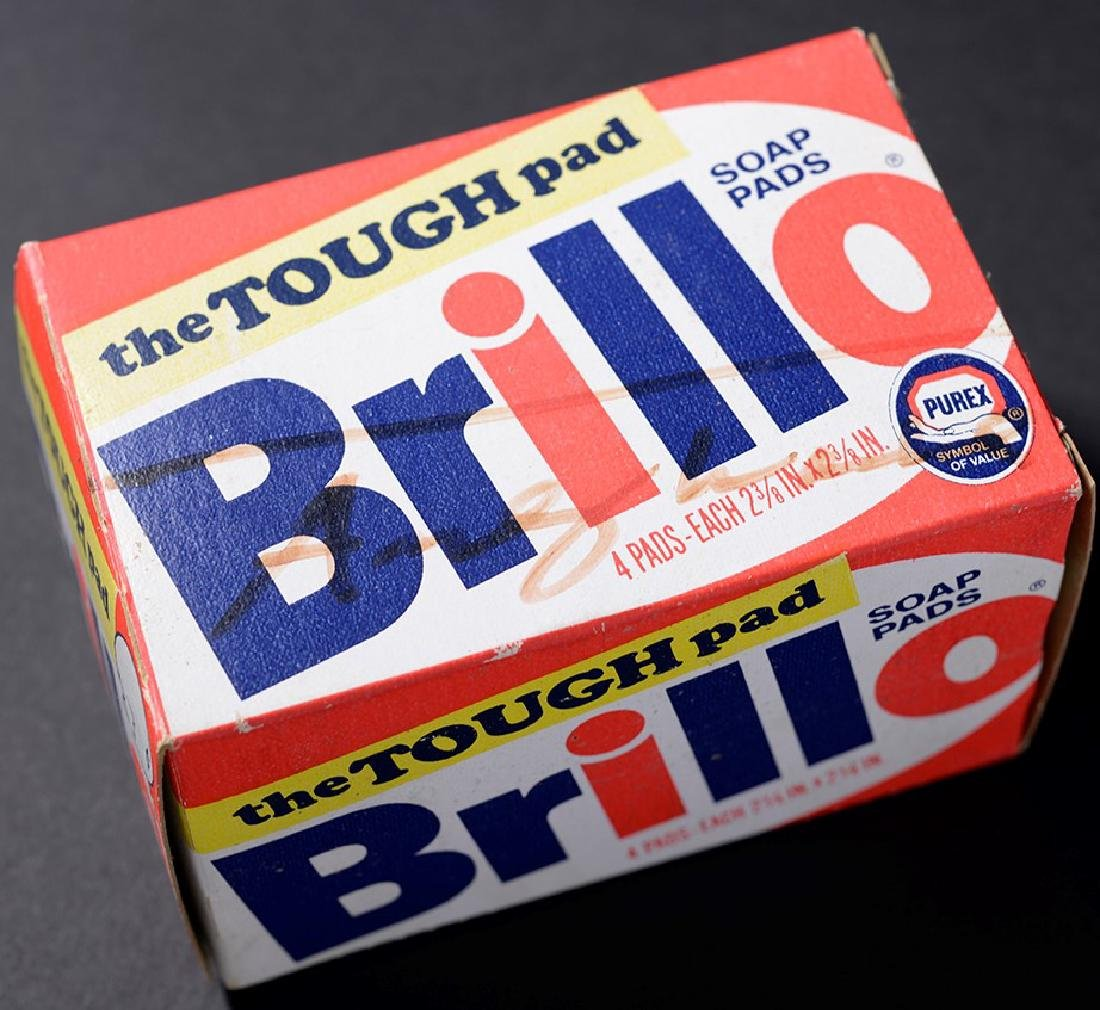 Brillo Box Signed by Andy Warhol
