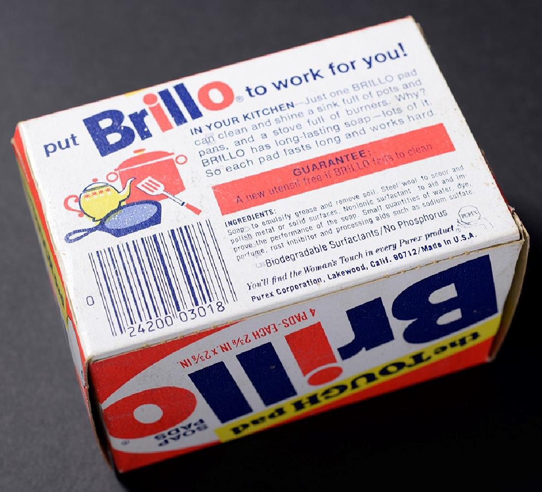 Brillo Box Signed by Andy Warhol - 2