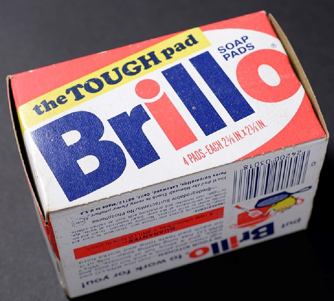 Brillo Box Signed by Andy Warhol - 3